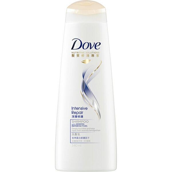 *優惠促銷*多芬深層修護洗髮乳340ml《康是美》