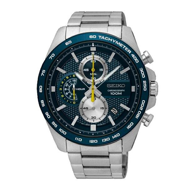 Seiko精工表CS8T67-00F0B(SSB259P1)極限運動計時腕錶44mm