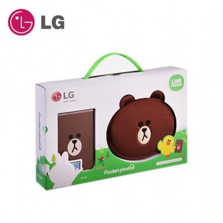 【領券現折】現貨 LG Pocket photo 3.0 口袋相印機第三代LINE熊大限量版 PD239SF 隨拍隨印 藍牙連接無墨水列印技術