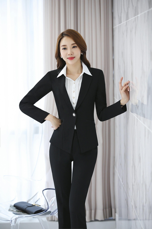 ✩鷗樂服飾★ 職業OL女用百褶襯衫 [白色]