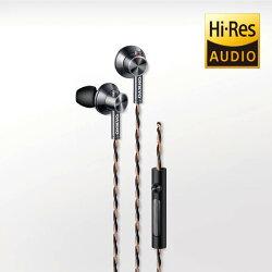 ONKYO E700M Hi-Res入耳式耳機-黑色 有線 入耳式 耳機 線控【迪特軍】