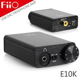 志達電子 E10K FiiO USB DAC 耳機擴大器 耳擴 sennheiser AKG 鐵三角 SONY SHURE