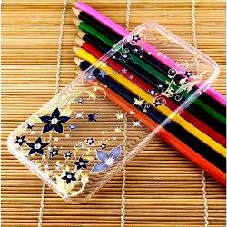 【奧地利水鑽】iPhone 6 Plus /6s Plus (5.5吋) 花系列保護軟套