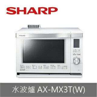 【SHARP】水波爐AX-MX3T(W/R)