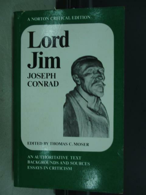 【書寶二手書T3/原文小說_JBM】Lord jim joseph conrad_1968
