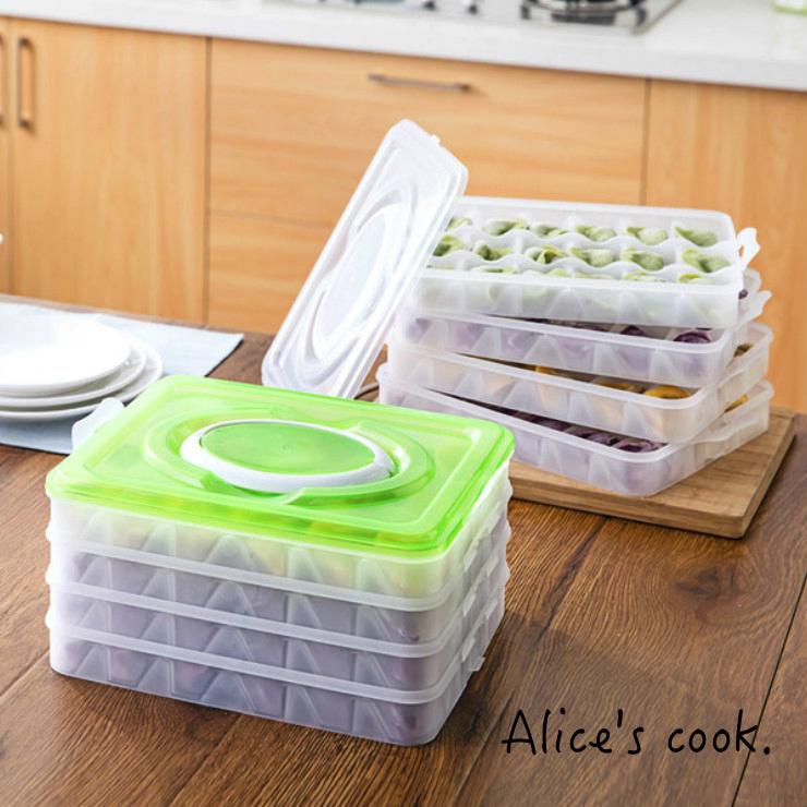 收納工具 冷凍水餃收納盒