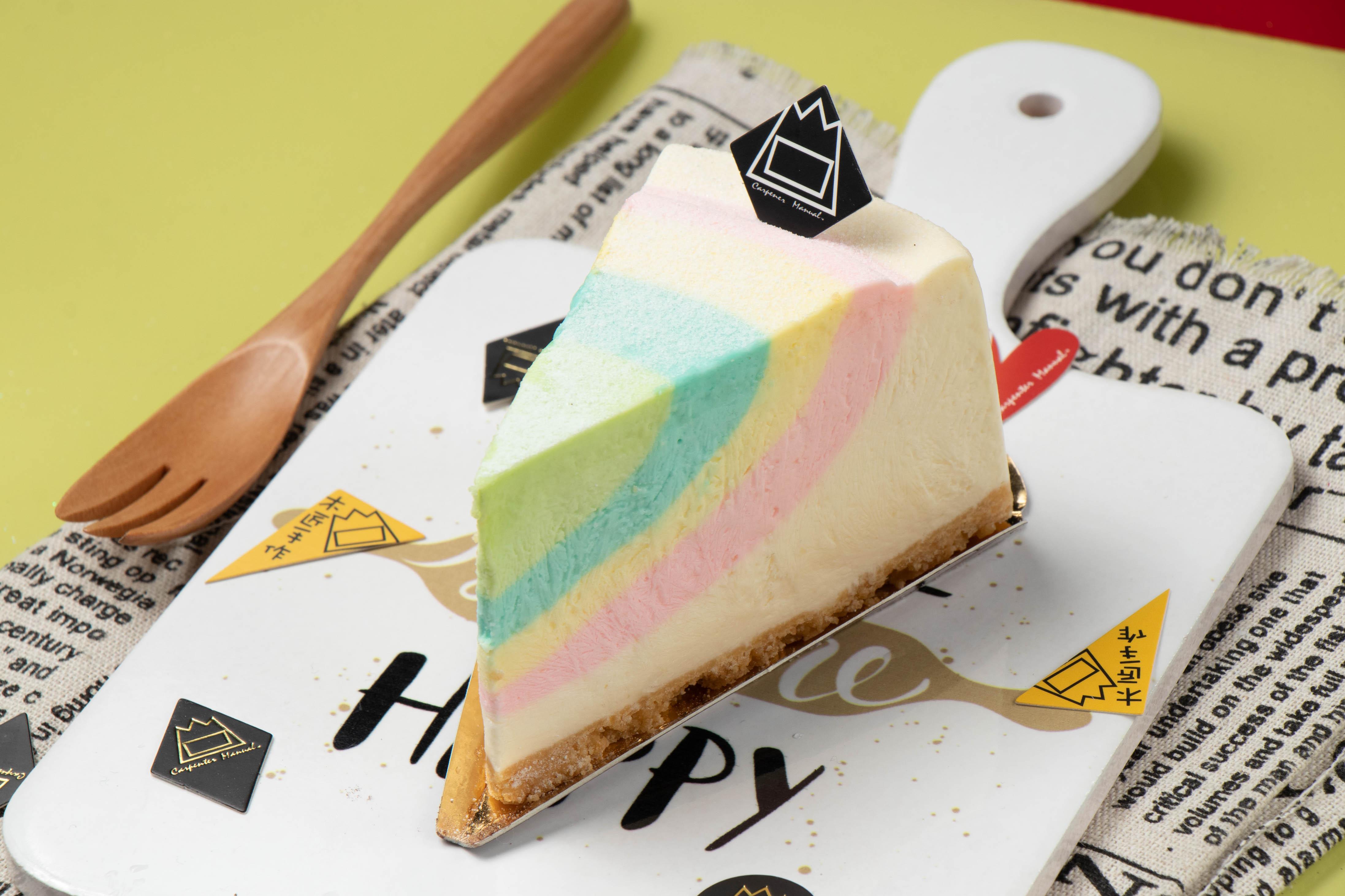 【木匠手作】彩虹優格乳酪(6吋)★