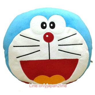 【真愛日本】17030400005翻轉抱枕-叮噹大臉銅鑼燒  Doraemon 哆啦A夢 小叮噹  娃娃 玩偶