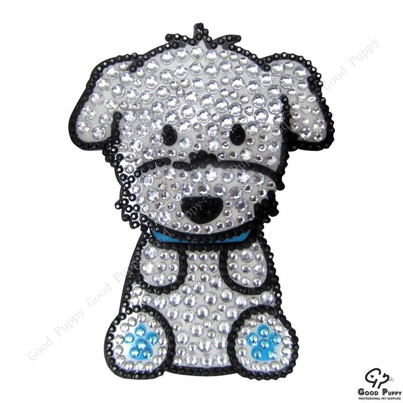 加拿大進口狗狗寵物水鑽貼紙-瑪爾濟斯男92960 Maltese (Boy)* 手機/平板/電腦/iPad/iPhone/小禮物/贈品