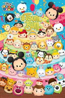 P2拼圖網:DisneyTsumTsum超可愛大集合拼圖1000片