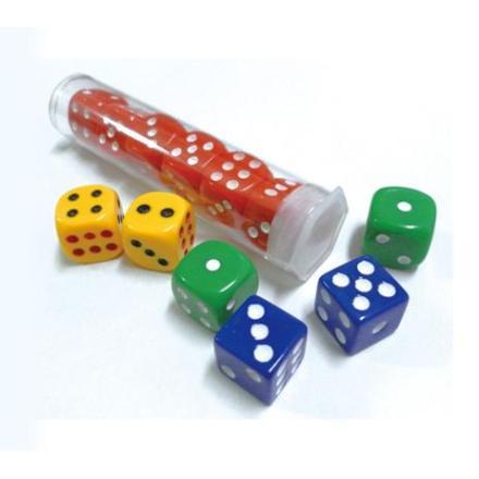 雷鳥 LT-240 0號彩色骰子 (6粒1盒)