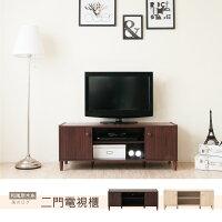 《HOPMA》和風原木系二門電視櫃