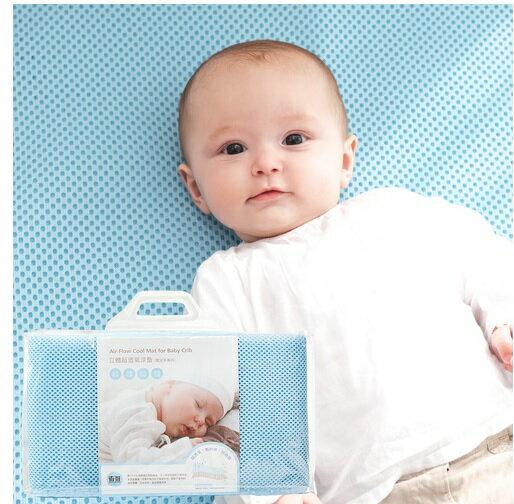 奇哥 Joie 立體超透氣涼墊(嬰兒床專用)【3D立體編織/黃金比例7mm厚/表層吸濕排汗紗】【紫貝殼】