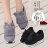 格子舖*【KR921】日韓雜誌熱賣質感麂皮 卡哇伊兔耳朵絨毛設計 厚底休閒帆布鞋 鬆糕鞋 3色 0