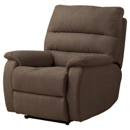 ◎(OUTLET)布質1人用電動可躺式沙發 BELIEVER2 YL-DBR NITORI宜得利家居 1