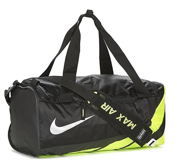 Nike VAPOR MAX AIR DUFFEL 背包 側背包 旅行袋 氣墊 減壓 黑 螢【運動世界】BA5249-010
