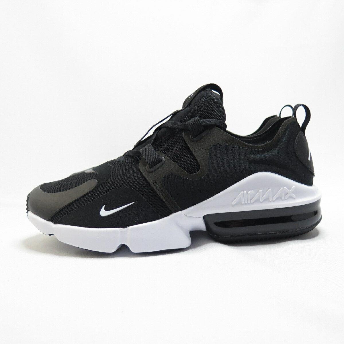 NIKE AIR MAX INFINITY 休閒鞋 BQ3999003 男款 黑白【iSport愛運動】