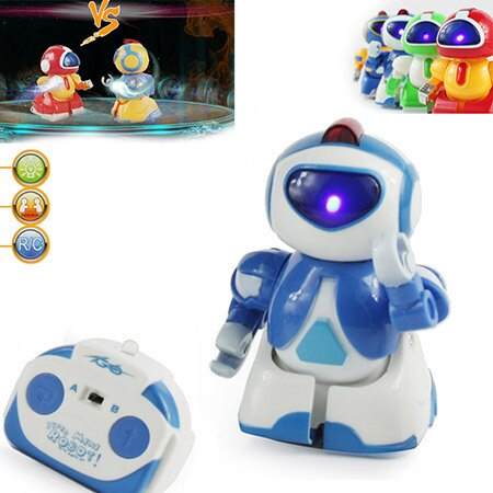 Microgear RC Mini IBOT Robot Voice Active, Music, Flashing BX299 - Red Free Shipping 2