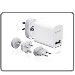 Innergie 台達電 PowerTravel Kit 10瓦USB旅行萬用充電組 4個可轉換AC插頭 (歐規、英規、美規、澳規)