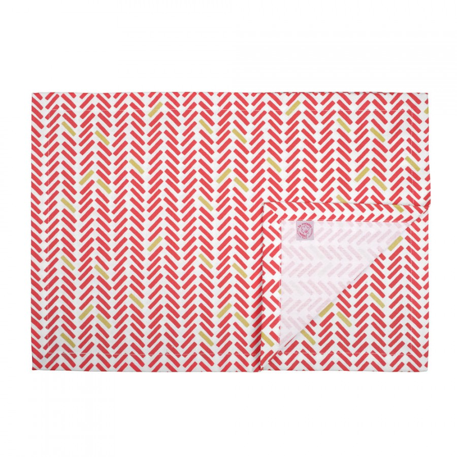 《法國 La Cocotte Paris》餐墊 Chevron rouge placemat 1