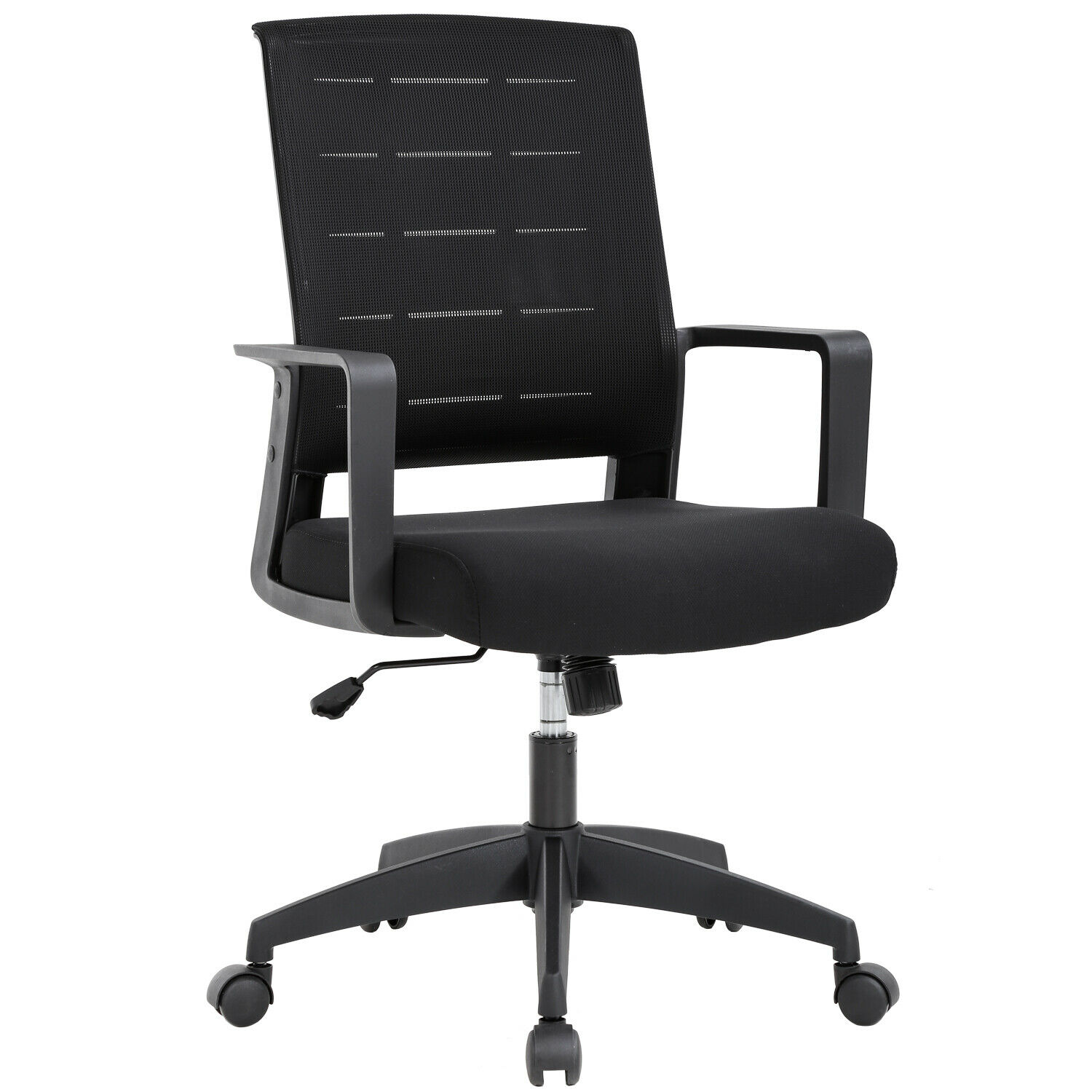 Ergonomic Office Chair Desk Chair Mesh Computer Chair with Lumbar Support  Executive Rolling Swivel Adjustable Mid Back Task Chair for Women Adults,  ...