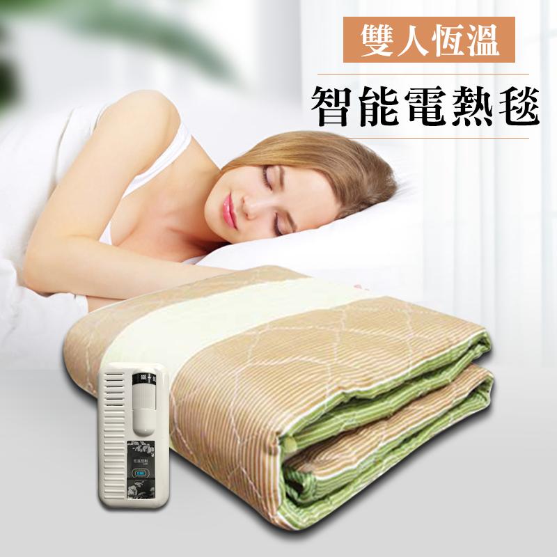 【韓國甲珍 雙人恆溫電熱毯】電熱毯 電毯 單人電熱毯 雙人電熱毯 發熱毯 毛毯 發熱墊 羊毛毯【AB439】 0