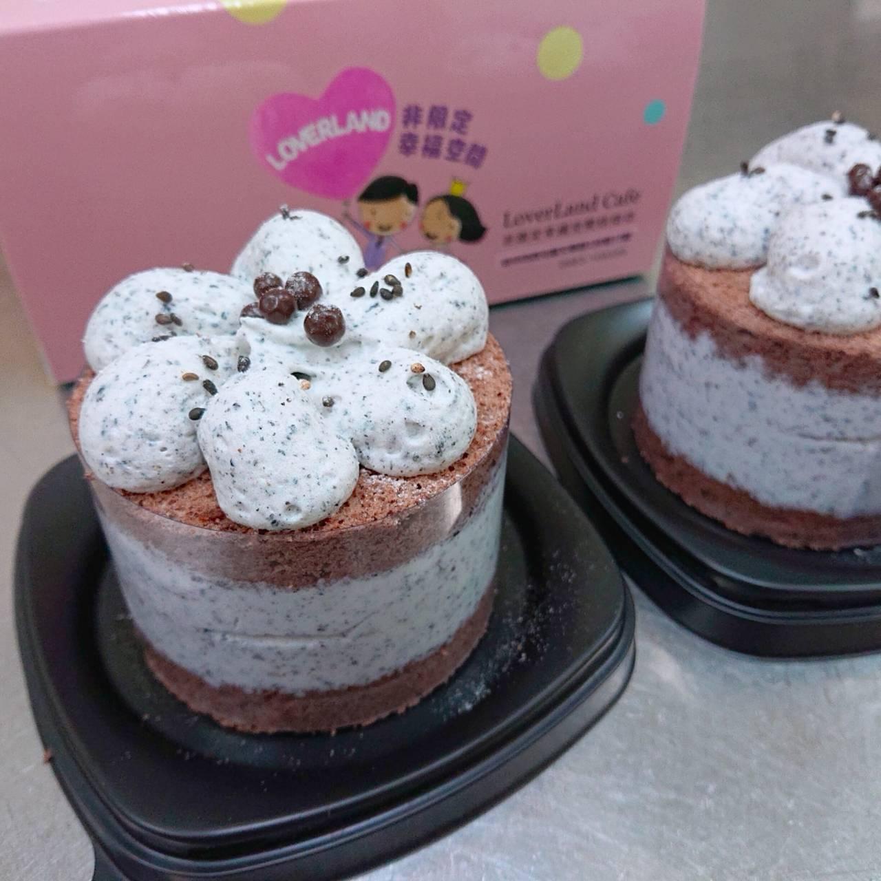 芝麻香巧克力蛋糕 (3吋蛋糕)