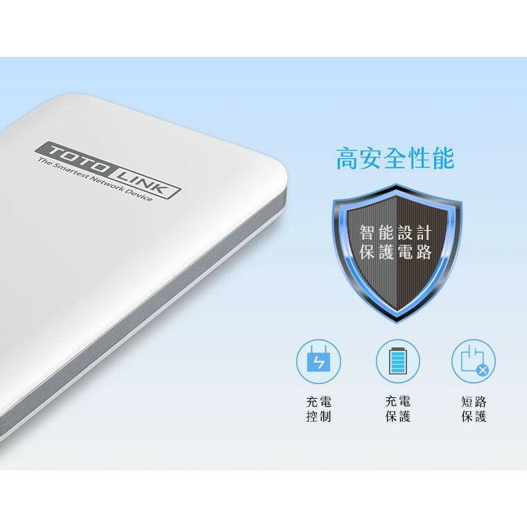 好康加 TOTOLINK 10000mAh超薄快充行動電源白 附Micro線 手機平板 行動充 充電寳 移動電源 大容量