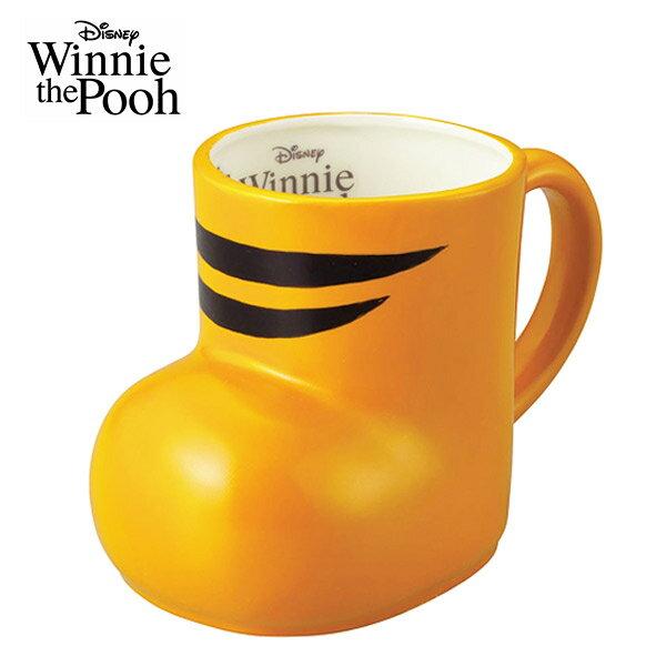 【日本正版】跳跳虎 腳丫 陶瓷 馬克杯 300ml 咖啡杯 小熊維尼 迪士尼 Disney - 244738