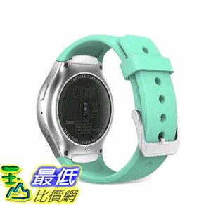 [106玉山最低比價網] 新款三星Gear S2錶帶 R720運動版錶帶 智能手錶運動款 矽膠腕帶 矽膠新色薄荷綠