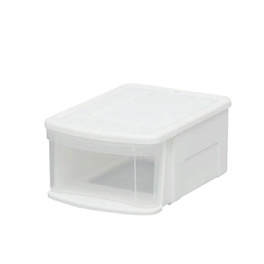 收納盒/衣物收納/無印風 日本IRIS 8L小物透明收納箱 SSS 完美主義 【T0064】