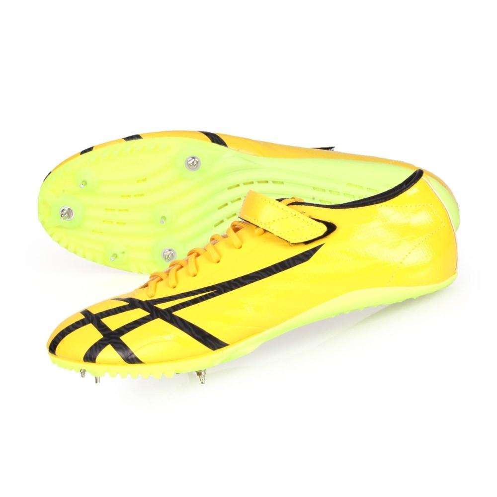 ASICS TAI-CHI YELLOW/BLACK 男女田徑釘鞋