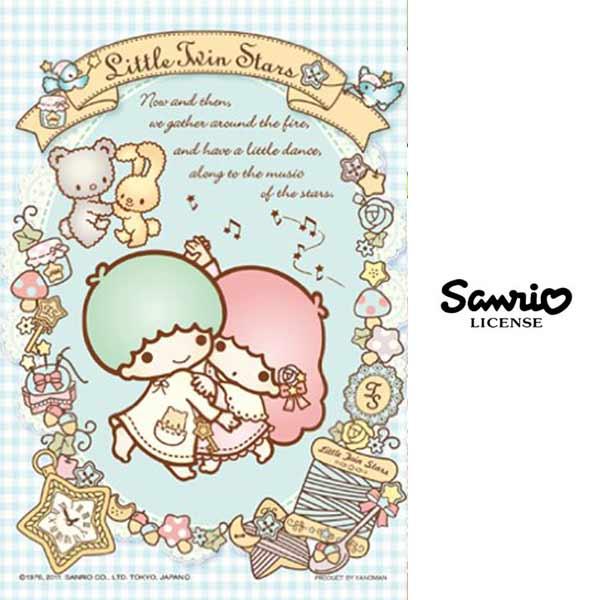跳舞款【日本進口】日本製 雙子星 KIKILALA 204片 森林的朋友們 拼圖 三麗鷗 Sanrio YANOMAN - 985663