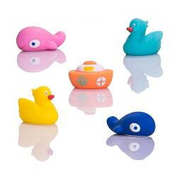 Creative Baby 創寶貝 水上樂園噴水洗澡玩具5入/組★衛立兒生活館★