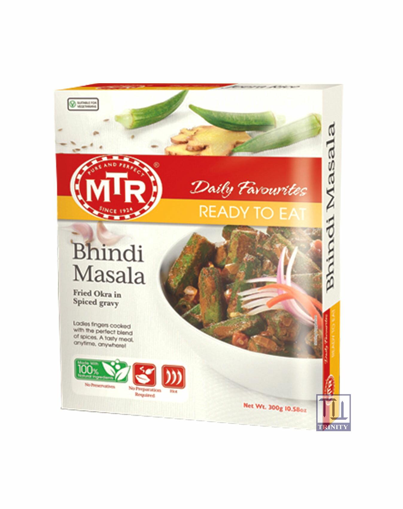 Mtr Bhindi Masala 印度秋葵咖哩即食調理包