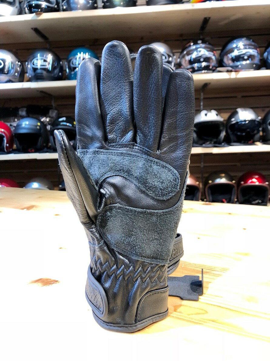 ~任我行騎士部品~ 美國 Biltwell Work 黑 全皮 復古 手套 美式