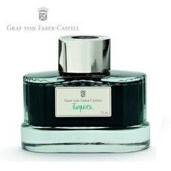 【Graf Von Faber-Castell】伯爵高級瓶裝墨水 綠松石 V141010  /瓶