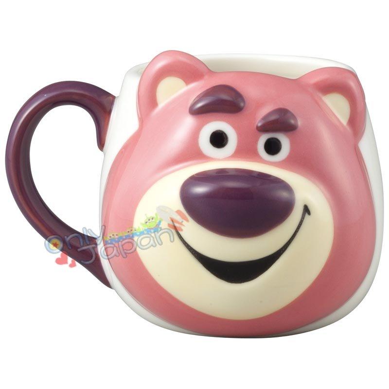 陶瓷 立體 2D馬克杯 熊抱哥大臉 迪士尼 玩具總動員 熊豹哥 馬克杯 水杯 單耳杯 18100400003 真愛日本