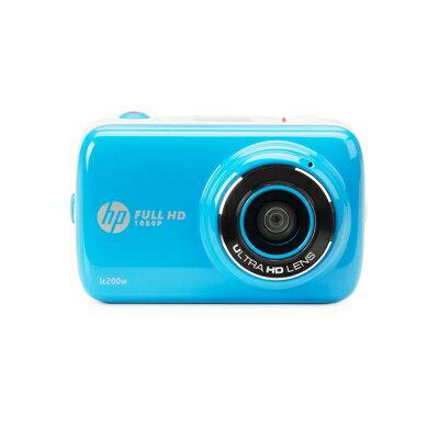 【純米小舖】HP LC200W 迷你無線生活攝相機 單機(公司貨)-藍