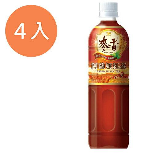 統一 麥香 阿薩姆紅茶 600ml (4入)/組