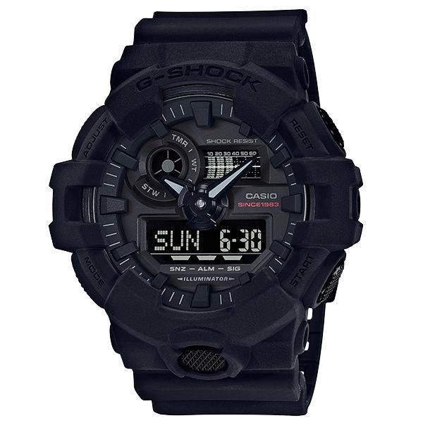 CASIOG-SHOCKGA-735A-1A35週年宇宙大爆炸黑色調強悍腕錶黑色