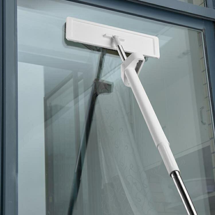 擦天花板 拖把擦天花板墻壁廚房吊頂瓷磚家用平板拖布一拖清潔神器凈