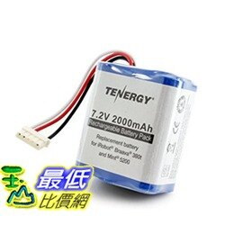 [104美國直購] 380t電池 Tenergy 7.2V 2000mAh Replacement Battery for iRobot Braava 380t & Mint 5200 tf01