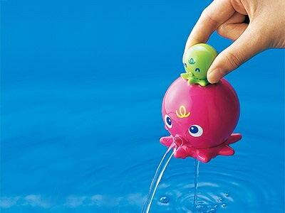日本【ToyRoyal 樂雅】  洗澡玩具 -章魚 1