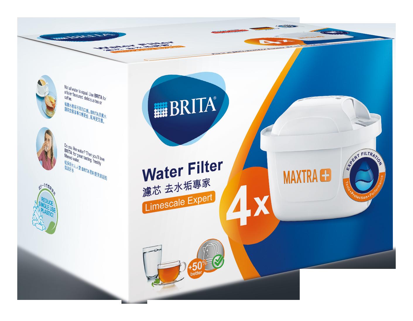 BRITA MAXTRA Plus 濾芯-去水垢專家(3入/4入/6入)│9481生活品牌館