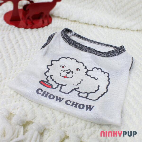 [毛孩姓名訂做款] 鬆獅犬 Chow Chow 反光衣(毛孩款)