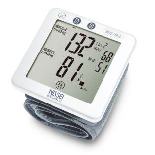 日本精密Nissei 手腕式血壓計WSK-1011J 贈送羅布麻茶+CAMRY電子體重計