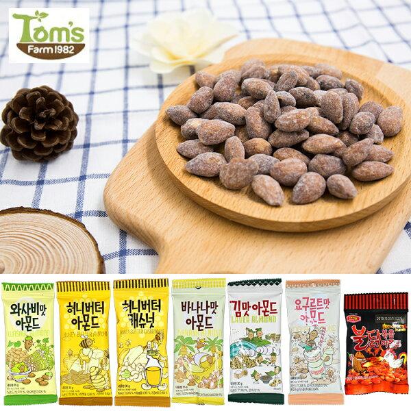 韓國Gilim蜂蜜奶油芥末香蕉海苔養樂多蜂蜜奶油火辣雞杏仁果腰果(35g30g)【庫奇小舖】