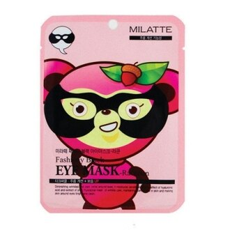 韓國Milatte動物黑眼膜-浣熊(保濕)