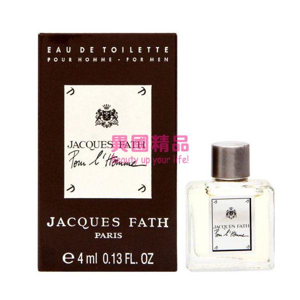 異國精品:JacquesFathL'Homme男性淡香水4mlEDTMINI小香【特價】§異國精品§